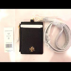 NWT Tory Burch Emerson  Card Case Key Fob